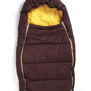 Quinny Buzz Stroller Foot Muff - Yellow/Brown